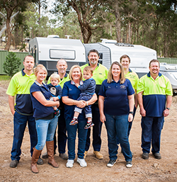 Paul Tall Caravan and RV repairs team